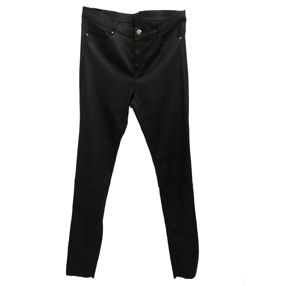 Γυναικείο Δερμάτινο Παντελόνι Stretch 1033 Μαύρο