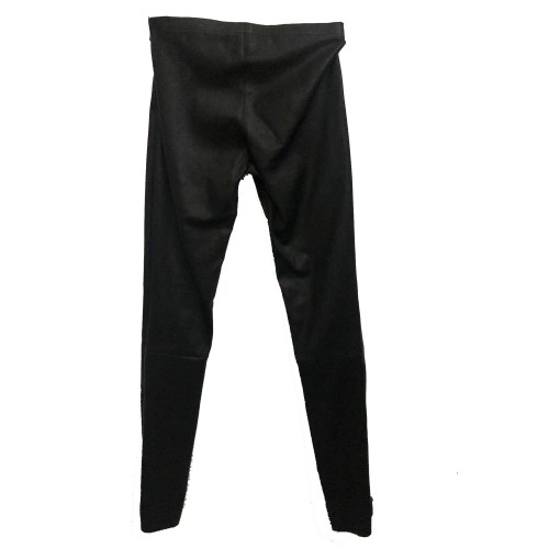 Γυναικείο Δερμάτινο Παντελόνι Stretch Talin Μαύρο
