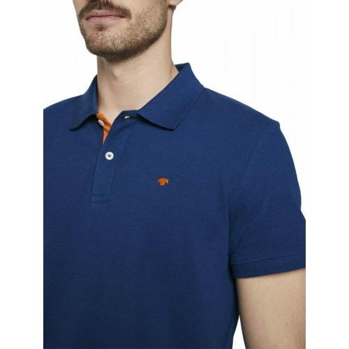 4TH 106 BASIC POLO WITH CONTRAS ΜΠΛΟΥΖΑ ΑΝΔΡΙΚΟ - TT0AP101650200000000 - TOM TAILOR