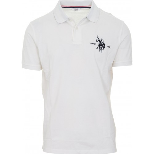 PACK OF 24 COLLAR POLO ΜΠΛΟΥΖΑ ΑΝΔΡΙΚΟ 5595941029P24 US POLO ASSN WHITE
