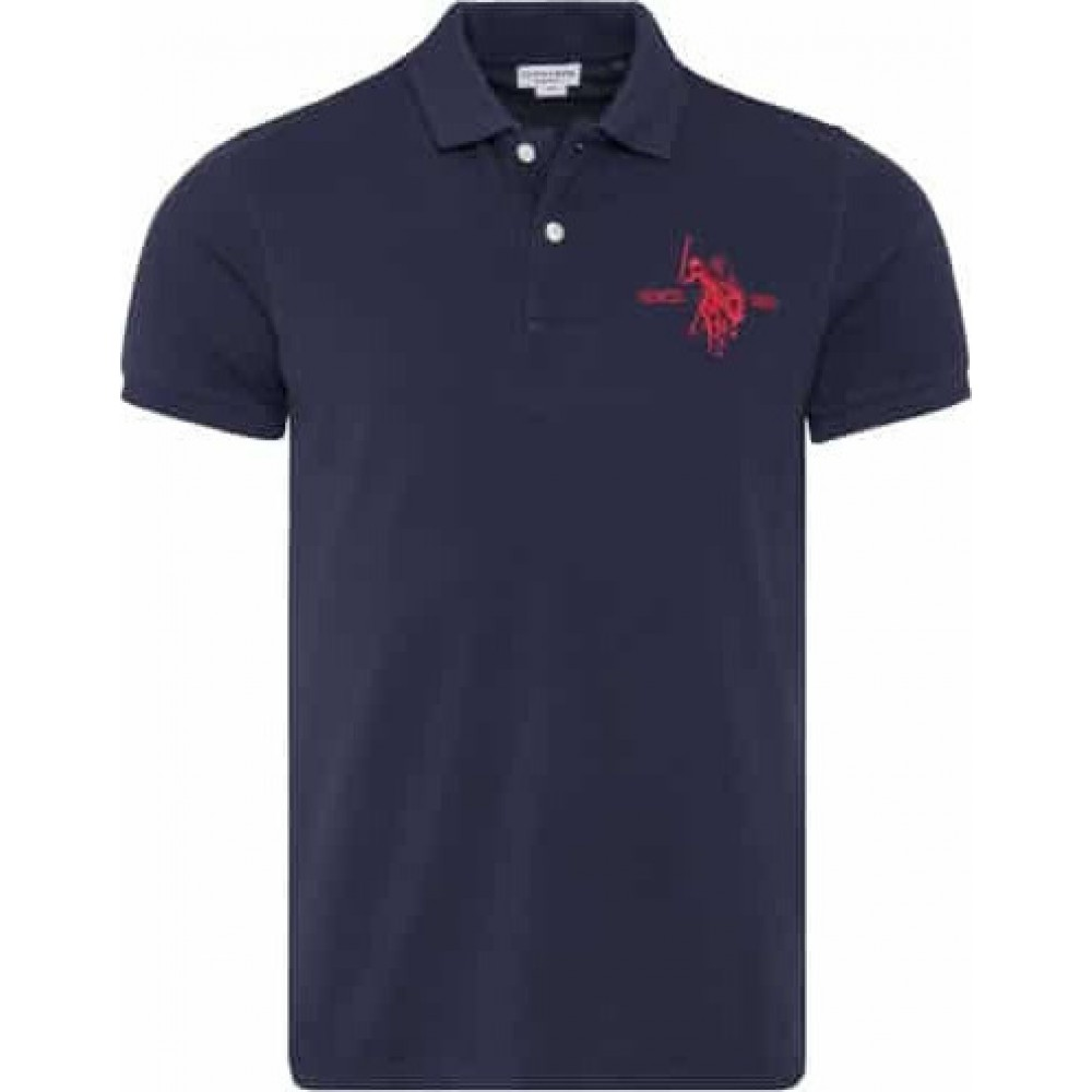 PACK OF 24 COLLAR POLO ΜΠΛΟΥΖΑ ΑΝΔΡΙΚΟ 5595941029P24 US POLO ASSN  DK NAVY