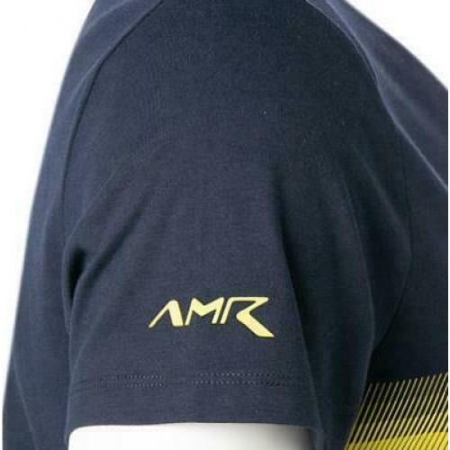 AMR CLASSIC FIT AMR HACKETT PRINT ΜΠΛΟΥΖΑ ΑΝΔΡΙΚΟ - HM500526 -NAVY  HACKETT