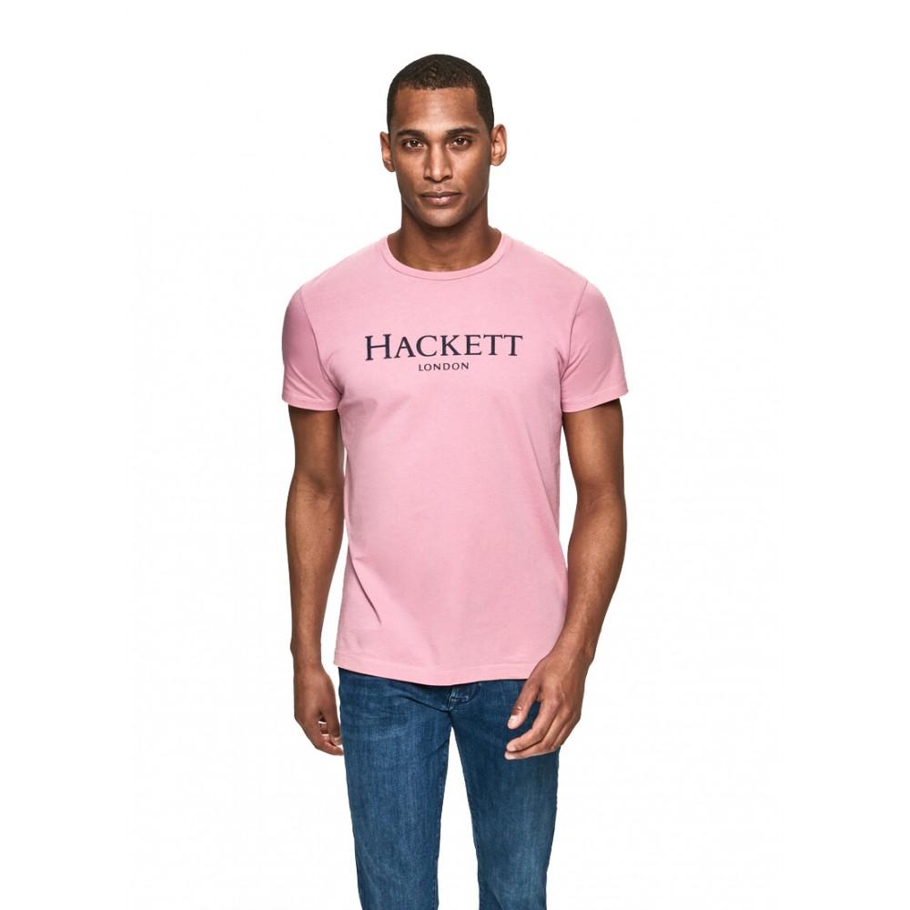 HACKETT LONDON HACKETT LDN HM500533 TEE ΜΠΛΟΥΖΑ ΑΝΔΡΙΚΟ WASHED ROSE-HACKETT