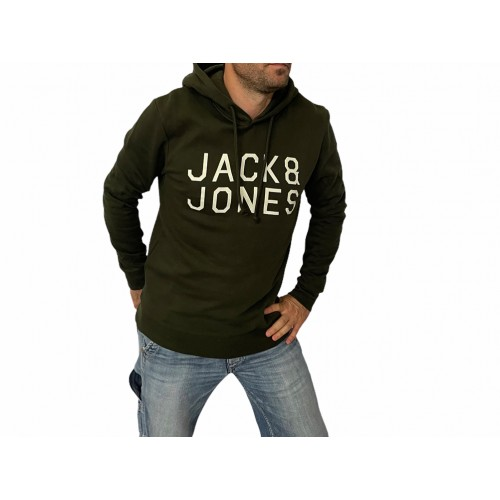 JORMULTI SWEAT MX ROSIN HOOD 12113187 ΑΝΔΡΙΚΟ ΦΟΥΤΕΡ ΜΕ ΚΟΥΚΟΥΛΑ JACK & JONES