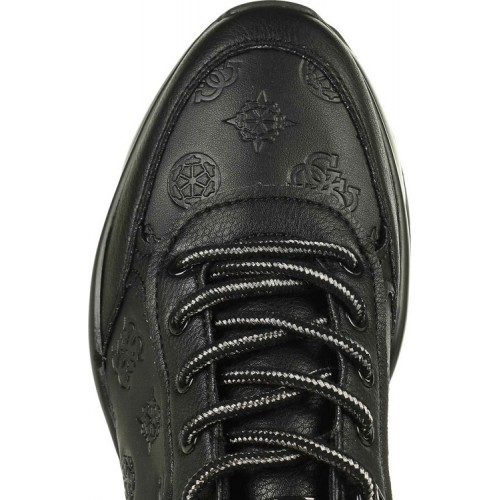 CLEAO/ACTIVE LADY/LEATHER LIKE ΠΑΠΟΥΤΣΙ ΓΥΝΑΙΚΕΙΟ - FL8CLEFAL12 -BLACK GUESS