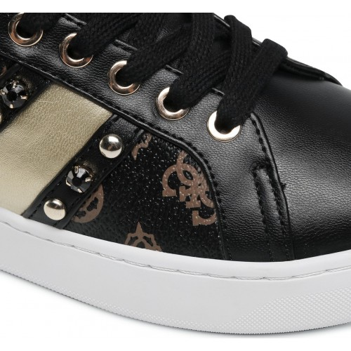 RICENA/ACTIVE LADY/LEATHER LIK ΠΑΠΟΥΤΣΙ ΓΥΝΑΙΚΕΙΟ - FL6RICFAL12 - GUESS SHOES