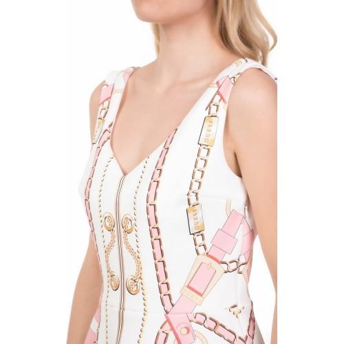 GALINA DRESS ΦΟΡΕΜΑ ΓΥΝΑΙΚΕΙΟ - W91K84K3PP0 - GUESS WHITE