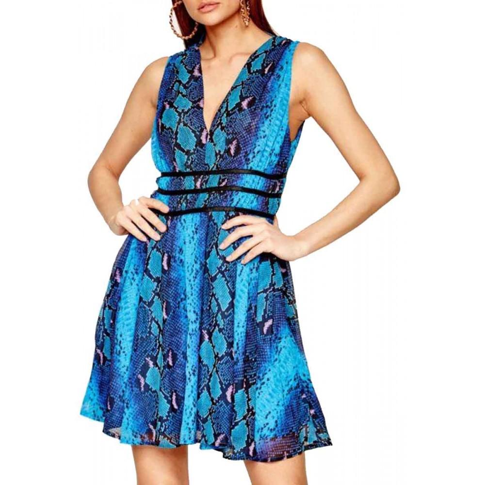 GINNY DRESS ΦΟΡΕΜΑ ΓΥΝΑΙΚΕΙΟ - W0GK24WBOX0 - GUESS BLUE