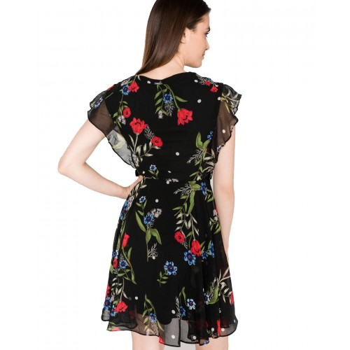 VERA DRESS ΦΟΡΕΜΑ ΓΥΝΑΙΚΕΙΟ - W92K56W8SL0 - GUESS  CASUAL DOTS AND FLOW